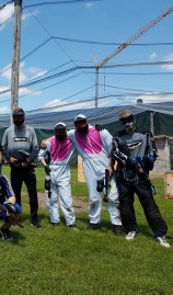 Paintball spielen in Tettnang.
